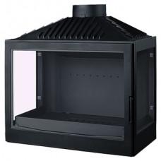 Топка L7 RL, два боковых стекла, черная