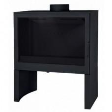 Печь Liseo L71 черная, чугунная