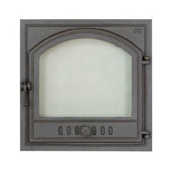 SVT 405 чугунная каминная дверца, правая