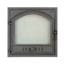 SVT 406 чугунная каминная дверца, герметичная, левая