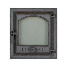 SVT 410 1-створчатая чугунная каминная дверца, герметичная, правая