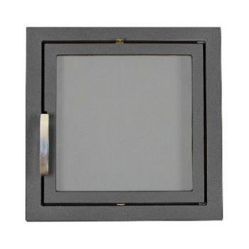 SVT 501 симметричная чугунная каминная дверца, герметичная
