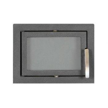 SVT 502  чугунная каминная дверца герметичная, симметричная
