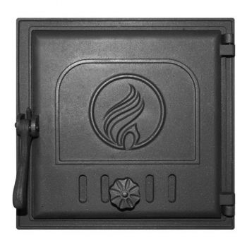 Дверца Fireway K411 топочная герметичная