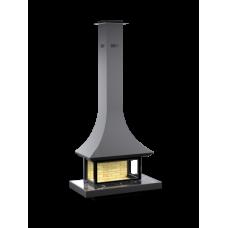 Печь-камин Astov АРТ П3С 12060, пристенный