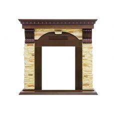 Каменный портал для электрокамина Dublin - Вегне / Сланец