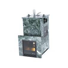 Печь для бани Easysteam Анапа М2 в полноценном кожухе с боковым подключением