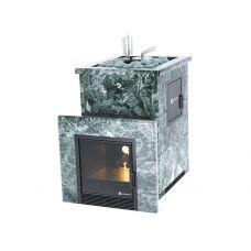 Печь для бани Easysteam Анапа М2 в полноценном кожухе с открытым верхом