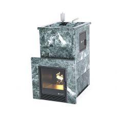 Печь для бани Easysteam Геленджик М2 в полноценном кожухе с открытым верхом