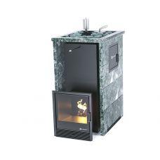 Печь для бани Easysteam Геленджик М2 в трехстороннем кожухе с открытым верхом