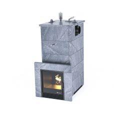 Печь для бани Easysteam  Геленджик в кожухе с боковым подключением