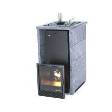 Печь для бани Easysteam Печь «Геленджик» в трехстороннем кожухе с открытым верхом