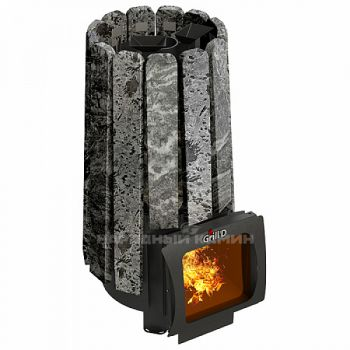Банная печь GRILL'D Cometa 180 Vega Short Window Max Stone