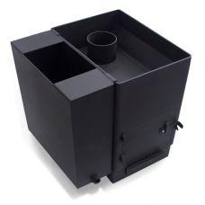 Печь для бани НМК Копеечка из черновой стали