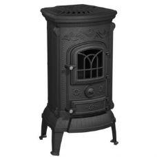 Печь-камин NORDflam PLATO черный