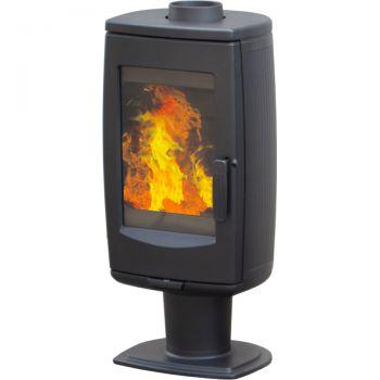 Печь-камин Plamen ARIA, черная