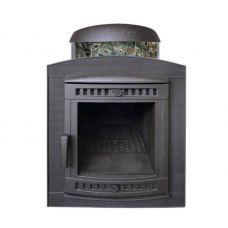 Банная печь Атмосфера в ламелях  Жадеит