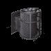 Печь для бани ПроМеталл Атмосфера с сеткой из нержавеющей стали