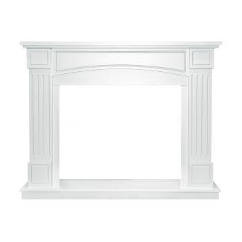 Каминокомплект Boston - Белый с очагом Dioramic 28 LED FX