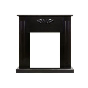 Каминокомплект Lumsden - Махагон коричневый антик с очагом Fobos FX Black