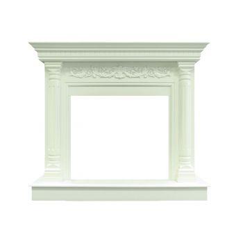 Каминокомплект Sicilia - Белый с очагом Dioramic 28 LED FX