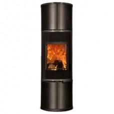 Печь Zion, черная/керамика черный глянец (Concept Feuer)